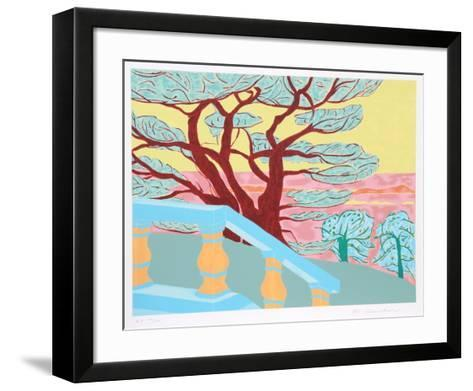Red Tree-Marion McClanahan-Framed Art Print