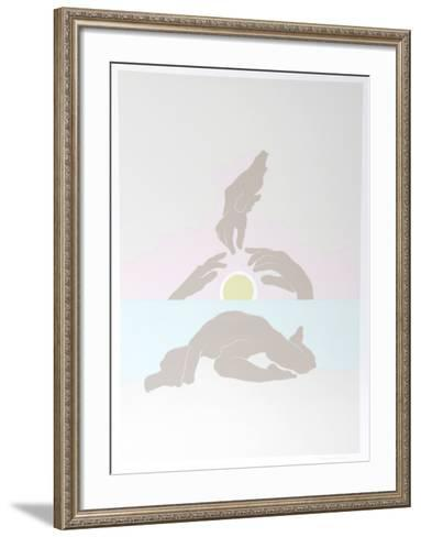 July Sunrise-Daphne Mumford-Framed Art Print