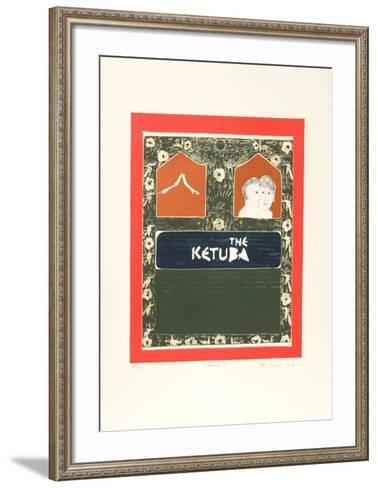 Biblical I-Mireille Kramer-Framed Art Print