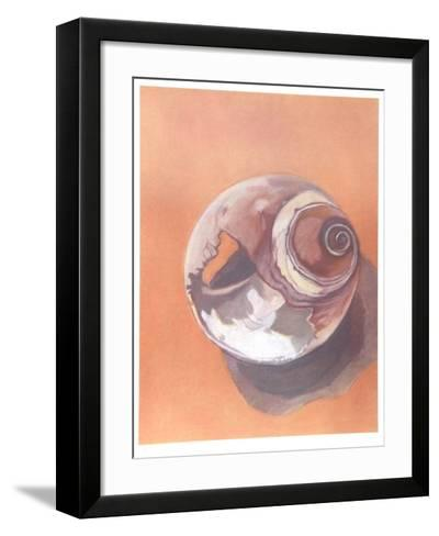 Moon Shell-Jill O'Connell-Framed Art Print
