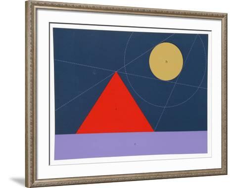 Shadow Lines-Kyohei Inukai-Framed Art Print