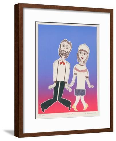 Charleston-Mireille Kramer-Framed Art Print