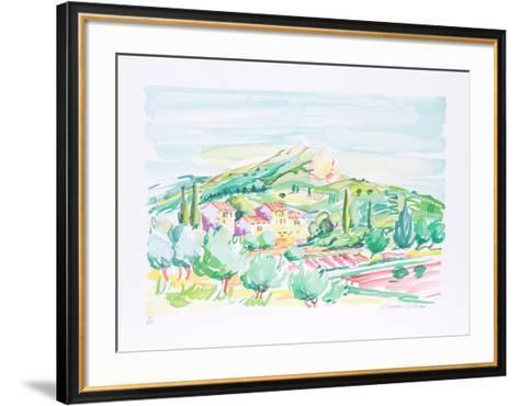 Fields-Oliver Zlatku-Framed Art Print