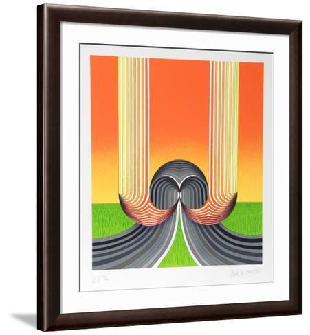 Tar and feather-Paul Jansen-Framed Art Print