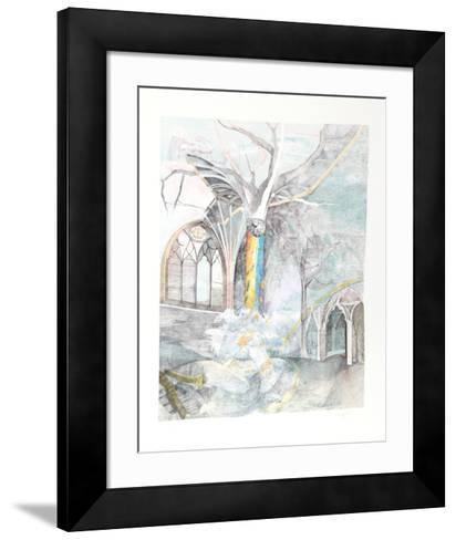 Iris- Kranic-Framed Art Print