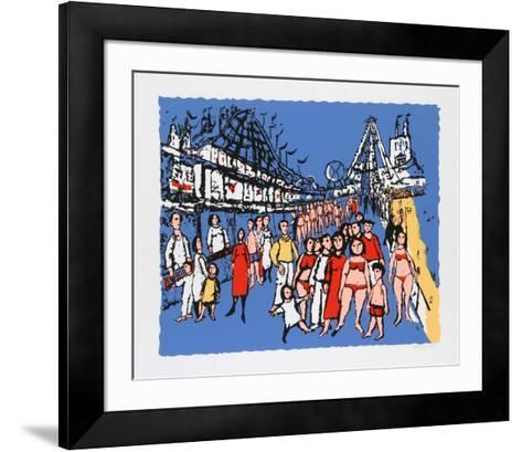 Coney Island- Lemsky-Framed Art Print