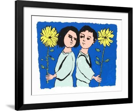 Twins- Lemsky-Framed Art Print