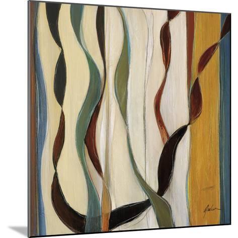 Falling Ribbons II-Judeen-Mounted Art Print