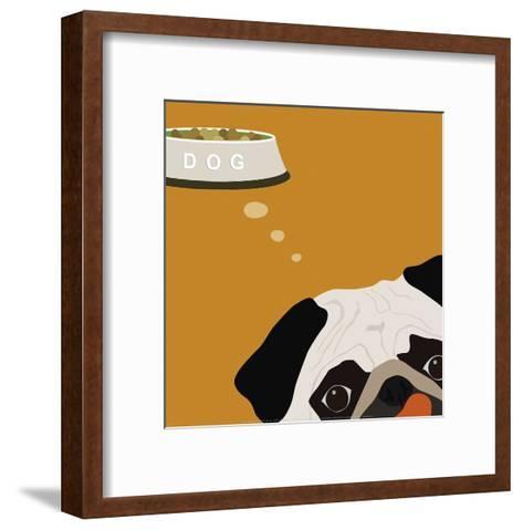 Peek-A-Boo: Pug-Yuko Lau-Framed Art Print