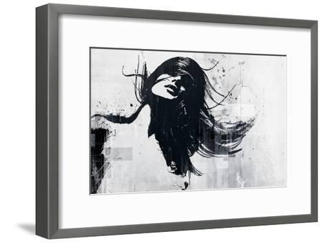 Closer-Alex Cherry-Framed Art Print