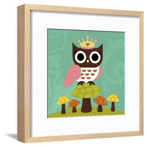 Princess Owl-Nancy Lee-Framed Art Print