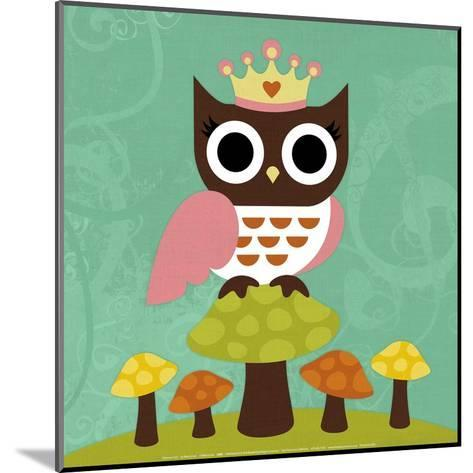 Princess Owl-Nancy Lee-Mounted Art Print