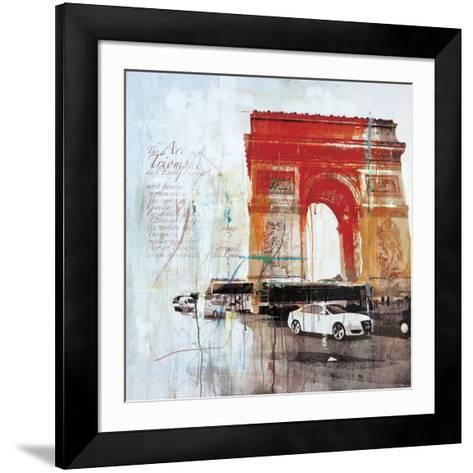 The City of Light II-Markus Haub-Framed Art Print