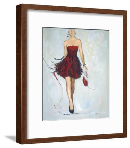 Saturday Night-Joyce Fournier-Framed Art Print