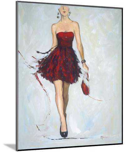Saturday Night-Joyce Fournier-Mounted Art Print