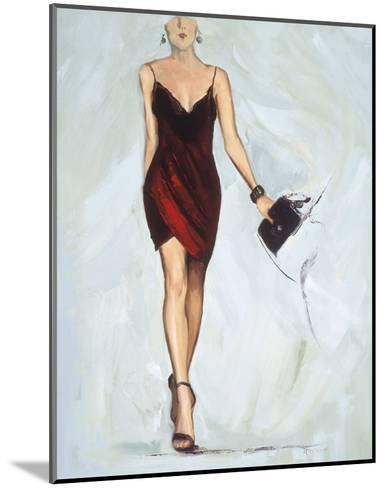 Strike The pose-Joyce Fournier-Mounted Art Print