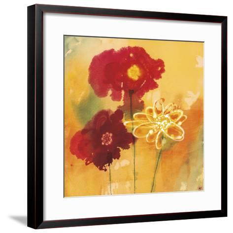 Sunflowers II-Aunaray Carol Clusiau-Framed Art Print