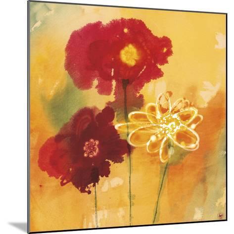 Sunflowers II-Aunaray Carol Clusiau-Mounted Art Print