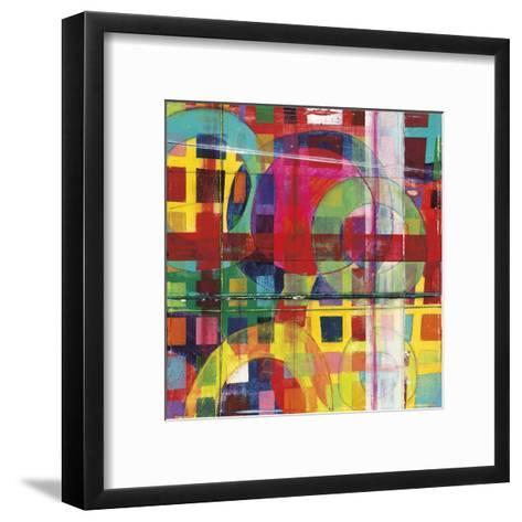 Bigger Houses-Dante Vida-Framed Art Print