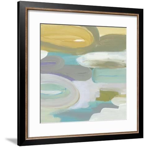 Silk Gem I-Cat Tesla-Framed Art Print