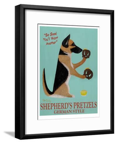 Shepherd's Pretzels-Ken Bailey-Framed Art Print