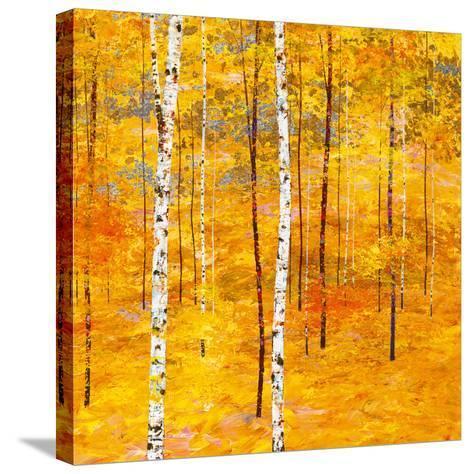 Iridescent Trees V-Alex Jawdokimov-Stretched Canvas Print