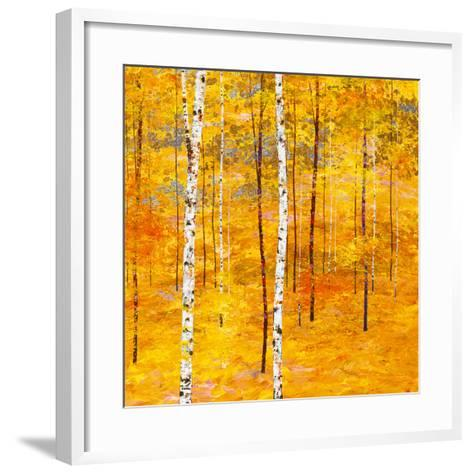 Iridescent Trees V-Alex Jawdokimov-Framed Art Print