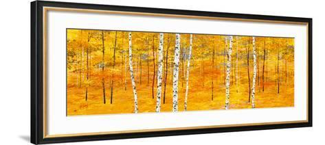 Iridescent Trees II-Alex Jawdokimov-Framed Art Print