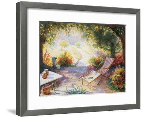 Geranium 10--Framed Art Print