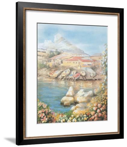 Jany 12--Framed Art Print