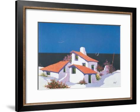 Mediterraneo 4--Framed Art Print