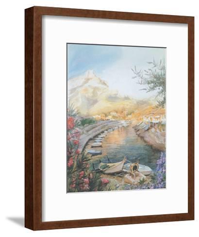 Jany 5--Framed Art Print