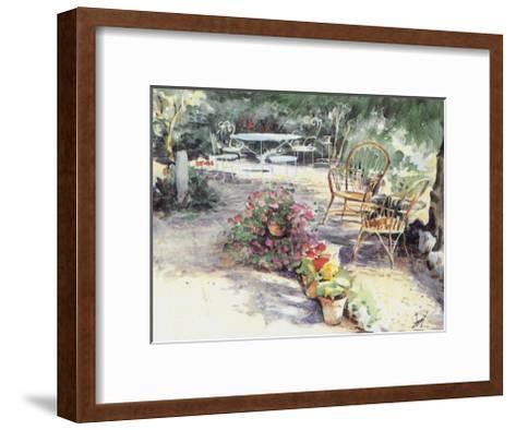 Jardin 7--Framed Art Print