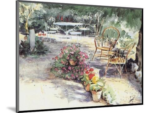 Jardin 7--Mounted Art Print