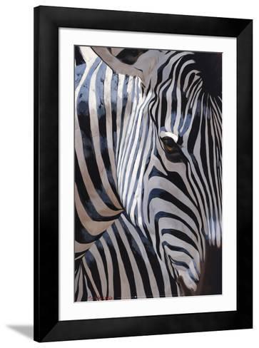 Zebra Stripes-P^ Charles-Framed Art Print