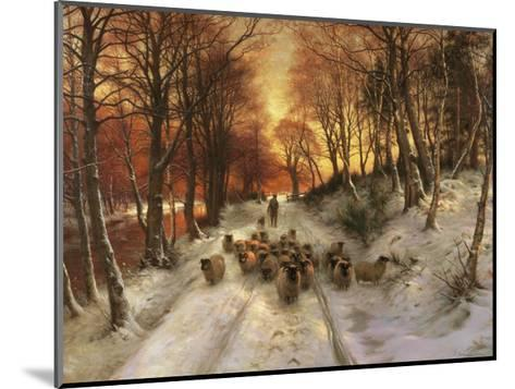 Through the Calm and Frosty Air-Joseph Farquharson-Mounted Art Print