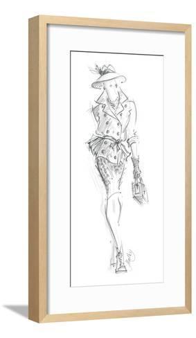 Executive Women VI-Jane Hartley-Framed Art Print