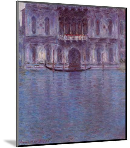 Palazzo Contarini-Claude Monet-Mounted Art Print