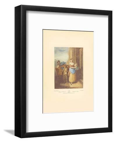 Turnips and Carrots, Ho-Francis Wheatley-Framed Art Print