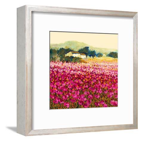 Le Jardin Rouge, Provence-Hazel Barker-Framed Art Print