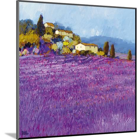 Wild Lavender, Provence-Hazel Barker-Mounted Art Print