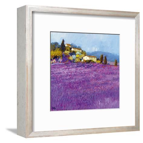 Wild Lavender, Provence-Hazel Barker-Framed Art Print