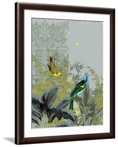 Birdsong at Dawn-Ken Hurd-Framed Art Print
