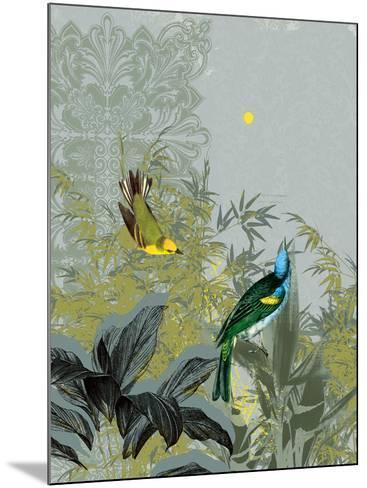 Birdsong at Dawn-Ken Hurd-Mounted Art Print