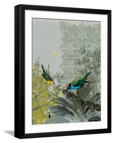 Birdsong at Dusk-Ken Hurd-Framed Art Print