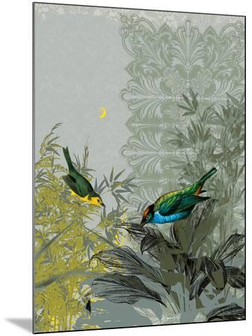 Birdsong at Dusk-Ken Hurd-Mounted Art Print