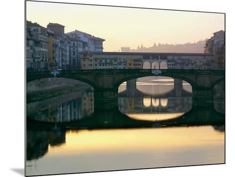 Ponte Vecchio-Bill Philip-Mounted Art Print