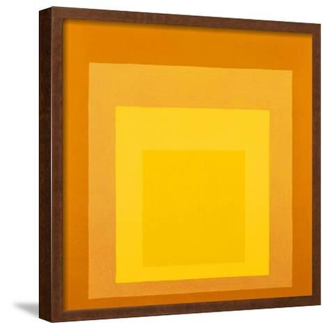 Homage To The Square-Josef Albers-Framed Art Print