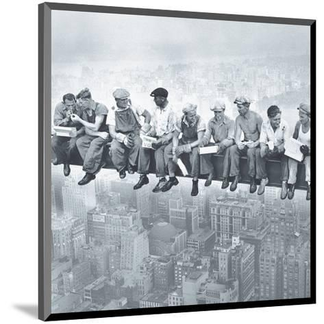 Lunch Atop A Skyscraper--Mounted Art Print