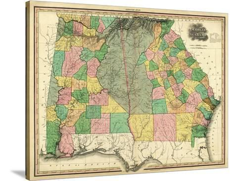Georgia and Alabama, c.1823-Henry S^ Tanner-Stretched Canvas Print